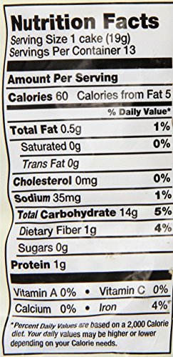 Lundberg-Eco-Farmed-Brown-Rice-Cake-Lightly-Salted-85-Ounce-Units-Pack-of-12-0-0