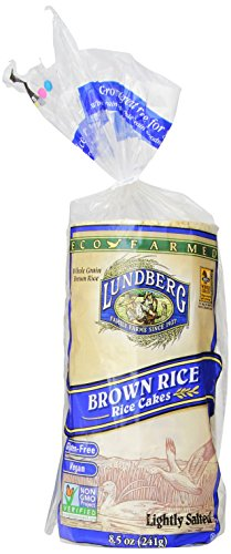 Lundberg-Eco-Farmed-Brown-Rice-Cake-Lightly-Salted-85-Ounce-Units-Pack-of-12-0