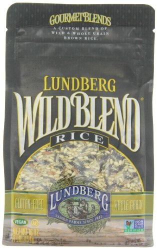 Lundberg-Wild-Blend-Gourmet-Blend-of-Wild-and-Whole-Grain-Brown-Rice-Gluten-Free-16-Ounce-Bags-Pack-of-6-Package-May-Vary-0
