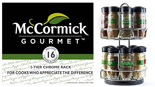 Mccormick Gourmet Spice Rack With Spices Included Online Grocery