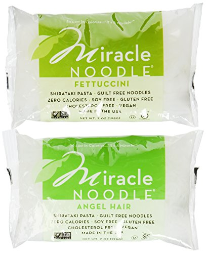 Miracle-Noodle-Shirataki-Angel-Hair-Pasta-and-Shirataki-Fettuccini-7-Ounce-Packages-Pack-of-3-Each-6-Total-0