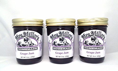Mrs-Millers-Amish-Homemade-Grape-Jam-8-Oz-Pack-of-3-Boxed-0