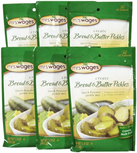 Mrs-Wages-Bread-n-Butter-Pickle-Mix-530-Ounce-Packets-Pack-of-6-0