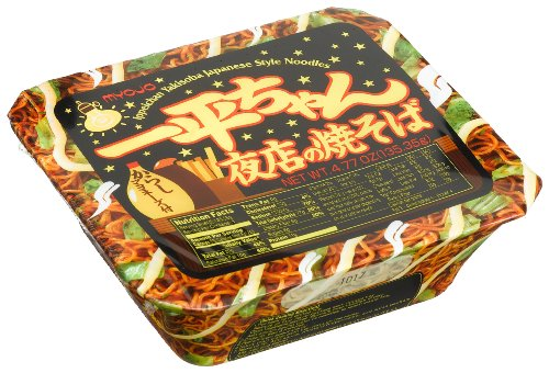 Myojo-Ippeichan-Yakisoba-Japanese-Style-Instant-Noodles-477-Ounce-Tubs-Pack-of-6-0-0