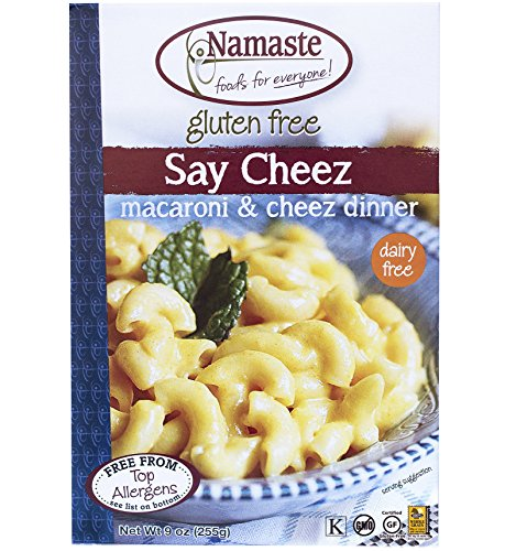 Namaste-Foods-Gluten-Free-Say-Cheez-Non-Dairy-Macaroni-Cheez-Dinner-9-Ounce-Boxes-Pack-of-6-0