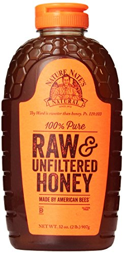 Nature-Nates-100-Pure-Raw-and-Unfiltered-Honey-32-Ounce-0