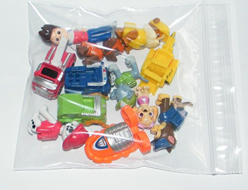 Nickelodeon-PAW-Patrol-Figure-Set-of-12-Deluxe-Mini-Cake-Toppers-Cupcake-Decorations-Party-favors-Featuring-Ryder-Marshall-Chase-Skye-5-Vehicles-and-Special-Gift-0-0