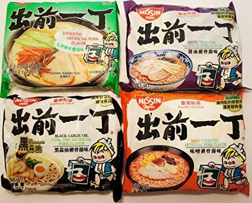 Nissin-Demae-Ramen-Variety-Pack-Tonkotsu-Series-Pack-of-16-with-4-Each-Flavor-0
