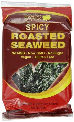 Ocean-Snack-Roasted-Seaweed-035-Ounce-Pack-of-21-0
