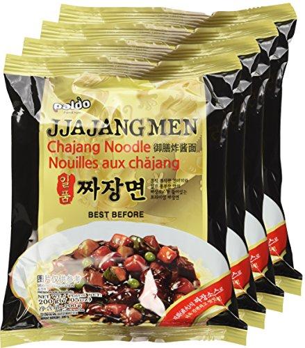 Paldo-Jjajangmen-Chajang-Noodle-Vegan-No-MSG-4-pack-0-0