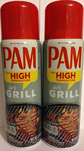 Pam-No-Stick-Cooking-Spray-Grill-For-High-Temperature-Net-Wt-5-OZ-141-g-Each-Pack-of-2-0