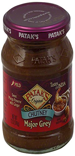 Pataks-Major-Grey-Chutney-12-Ounce-Jars-Pack-of-6-0