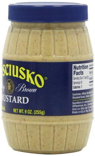 Plochmans-Kosciusko-Mustard-Spicy-Brown-9-Ounce-Spoonable-Barrels-Pack-of-12-0-1