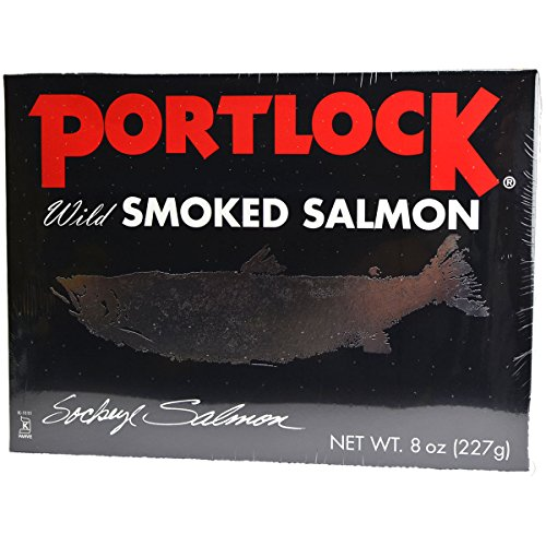 Portlock-Wild-Smoked-Pacific-Salmon-KosherChof-K-Net-Weight-8-OZ-All-Natural-0-0