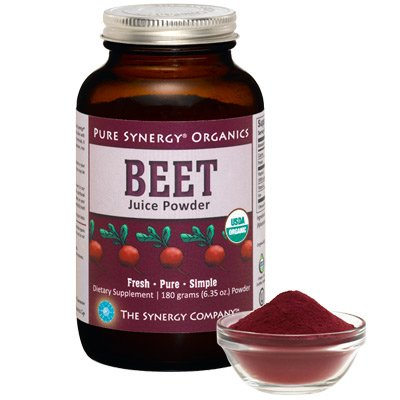 Pure-Synergy-Organics-Beet-Juice-Powder-with-Naturally-Occuring-Nitrates-635oz-by-The-Synergy-Company-0