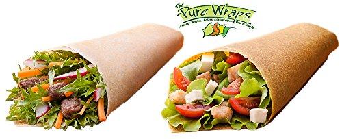 Pure-Wraps-Paleo-Coconut-Wraps-Original-Curry-Sampler-4-Per-Pack-8-wraps-0-0