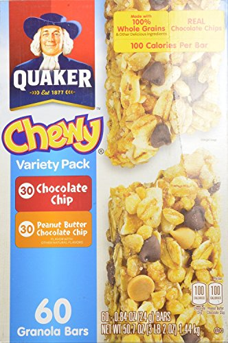 Quaker-Chewy-Variety-Pack-Peanut-Butter-and-Chocolate-Chip-60-Count-0
