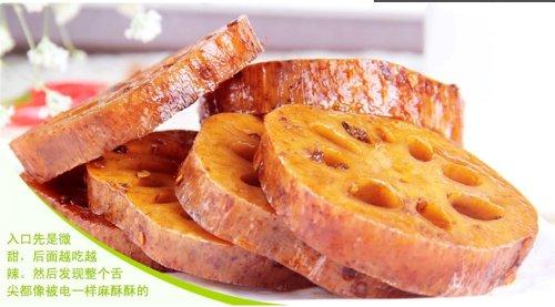 Qyz-Chinese-Hu-Bei-Special-Leisure-Snack-Food-Spicy-Halide-Lotus-Root840g-0-0