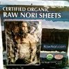 Raw-Organic-Nori-Sheets-50-qty-Pack-Certified-Vegan-Raw-Kosher-Sushi-Wrap-Papers-Premium-Unheated-Un-Cooked-untoasted-dried-RAWFOOD-0