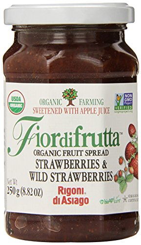 Rigoni-Di-Asiago-Fiordifrutta-Organic-Fruit-Spread-Strawberry-882-Ounce-Pack-of-6-0