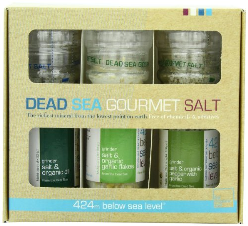 Salt-424-Three-Grinder-Pack-100-Organic-Salts-Dill-Garlic-and-Garlic-with-Pepper-2511-Ounce-0