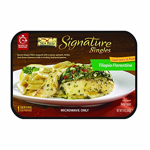 Sea-Best-Signature-Singles-Tilapia-Florentine-with-Penne-Pasta-8-Ounce-0