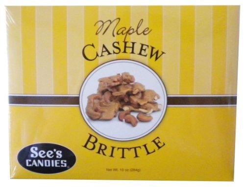 Sees-Candies-10-oz-Maple-Cashew-Brittle-0