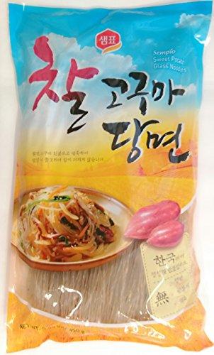 Sempio-Glass-Noodles-Korean-Vermicelli-Dangmyun-Sweet-Potato-Starch-099-lbs450g-0