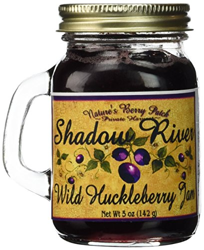 Shadow-River-Wild-Huckleberry-Gourmet-Jam-5oz-Shaker-Jar-Pack-of-2-0