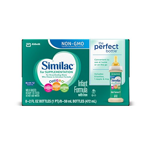Similac-For-Supplementation-Infant-Formula-with-Iron-Ready-to-Feed-Bottles-2-Ounce-8-count-Pack-of-6-0