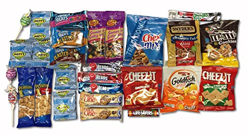 Snack-A-Matic-Premium-Sweet-Savory-Variety-Pack-28-Piece-Deluxe-Snack-Box-with-Cookies-Crackers-Candy-Pretzels-More-0-0