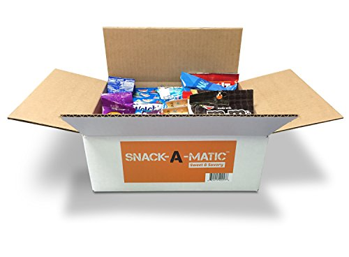 Snack-A-Matic-Premium-Sweet-Savory-Variety-Pack-28-Piece-Deluxe-Snack-Box-with-Cookies-Crackers-Candy-Pretzels-More-0