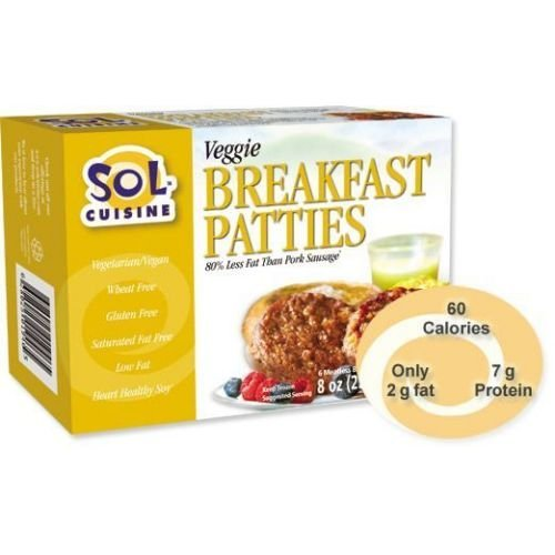 Sol-Cuisine-Veggie-Breakfast-Patty-8-Ounce-12-per-case-0