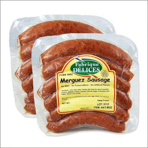Spicy-Lamb-Sausages-Merguez-Sausages-100-Lamb-Pork-Free-6-Links-Pack-of-2-0
