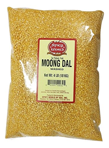 Spicy-World-Moong-Dal-Split-Mung-Beans-Washed-4-Pounds-0