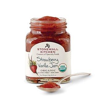 Stonewall-Kitchen-Organic-Strawberry-Vanilla-Jam-825-Ounce-0