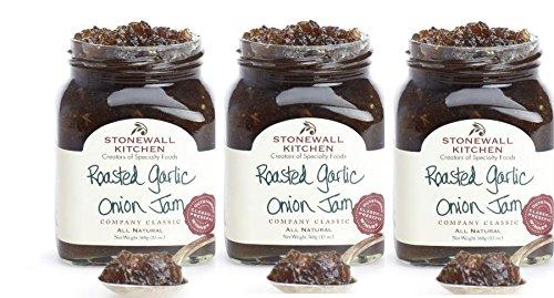 Stonewall-Kitchen-Roasted-Garlic-Onion-Jam-3-Pack-0