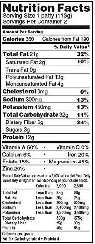 Sunshine-Organic-Quarter-Pound-Original-Burger-8-Ounce-2-per-pack-12-packs-per-case-0-0