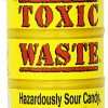 TOXIC-WASTE-Hazardously-Sour-Candy-17-Ounce-Plastic-Drums-Pack-of-12-0