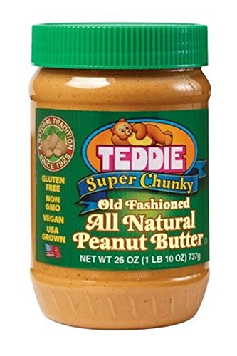 Teddie-All-Natural-Peanut-Butter-Super-Chunky-26-Ounce-Jar-Pack-of-3-0