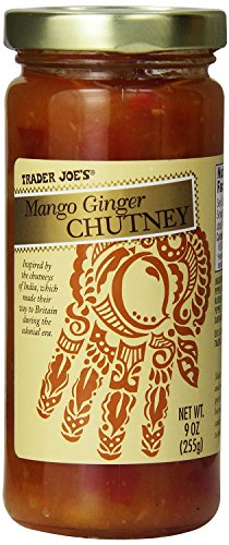 Trader-Joes-Gourmet-Mango-Ginger-Chutney-9-Ounce-Pack-of-2-0