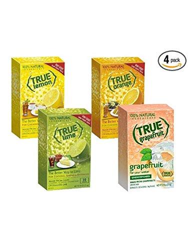 True-Lemon-Lime-Orange-Grapefruit-32ct-Boxes-Sampler-Pack-4-packs-0