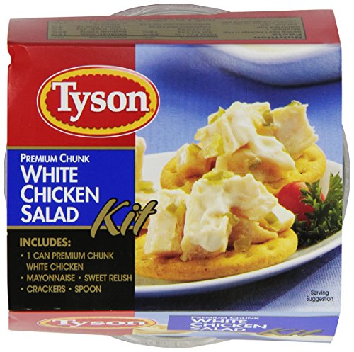 Tyson-Premium-Chunk-White-Chicken-Salad-Kit-457-Ounce-Pack-of-12-0