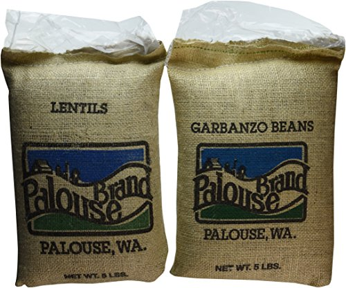 USA-Grown-Bean-Pack-5-LBS-Pardina-Lentils-and-5-LBS-Garbanzo-Beans-10Lbs-Total-100-Non-Irradiated-Certified-Kosher-Parve-Non-GMO-Project-Verified-Identity-Preserved-We-tell-you-which-field-we-grew-it–0-0