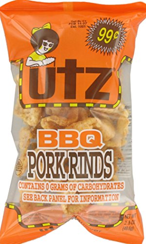 Utz-BBQ-Flavored-Pork-Rinds-25-Ounce-Pack-of-16-0