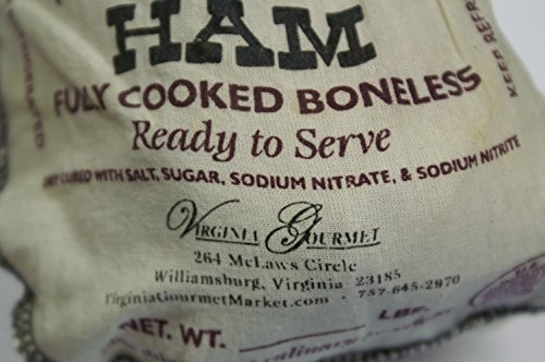 Virginia-Hickory-Smoked-Country-Ham-Virginias-Finest-Cooked-Boneless-Traditional-Southern-Hickory-Smoked-Cured-Virginia-Gourmet-Ham-3-lbs-Petite-Ham-Already-Cooked-Dry-Cured-De-boned-Trimmed-Ready-to–0-0