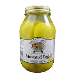 Walnut-Creek-Amish-Mustard-Eggs-Glass-Jar-0