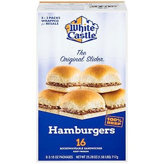 White-Castle-hamburgers-2-Sliders-366-Oz-16-Count-0