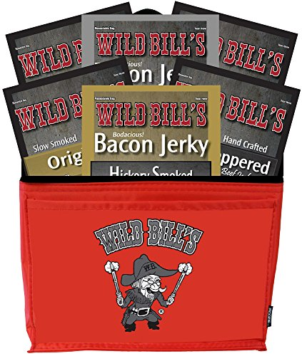 Wild-Bills-6-Piece-Jerky-Sampler-6-Pack-Gift-Cooler-filled-with-6-assorted-3oz-jerky-packs-0