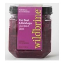 Wildbrine-Red-Beet-and-Red-Cabbage-Sauerkraut-Salad-18-Ounce-6-per-case-0